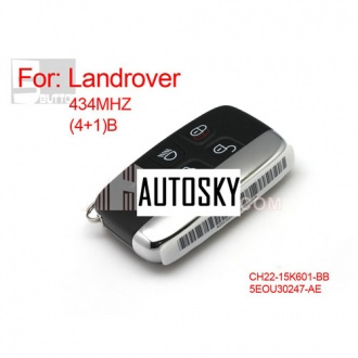 landcover discover4  4+1 remote key 434MHZ
