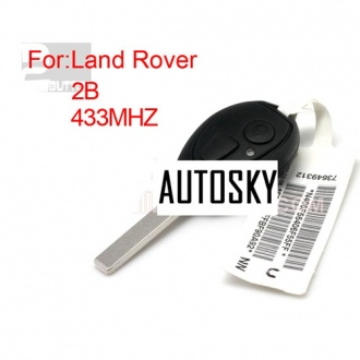 landcover,mini,MG7 ,two buttom remote key433MHZ(with code)