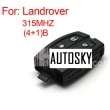landcover 3+1 smart remote key315MHZ