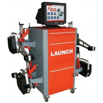Original Launch X-631+ Wheel Aligner with 8-CCD Sensor