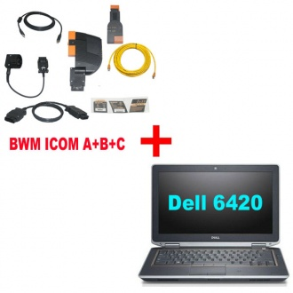 Best price For BMW ICOM A+B+C With Latest software 2017.07 Engineer Version Plus DELL 6420 Laptop