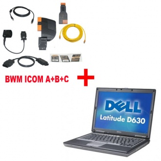 Best Price For BMW ICOM A+B+C With 2018.07 Engineer Version Plus DELL D630 Laptop