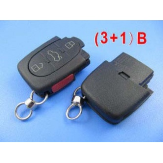 Audi remote shell ( 3+1 )button
