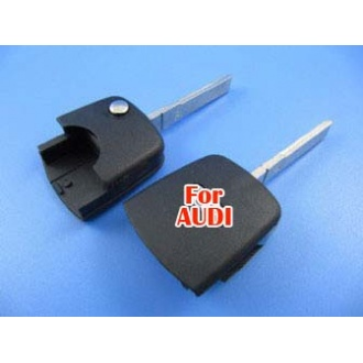 Audi flip remote key head shell