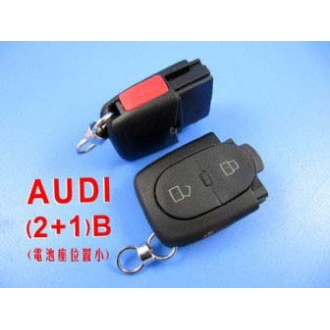 Audi remote shell 2+1 button