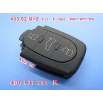 AUDI 3B 4DO 837 231 K 433.92Mhz For Europe South America
