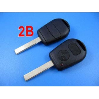 Bmw remote key shell 2 button with cupronickel key blade