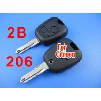 citroen remote key shell 2 button (206)