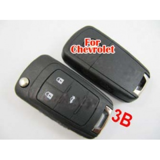 Cherolet 3button folding remote key casing