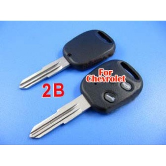 Chevrolet remote key shell 2 button