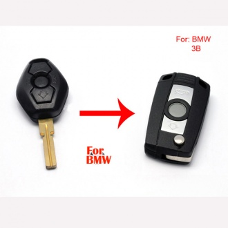 BMW modified flip remote key shell 3 button HU58