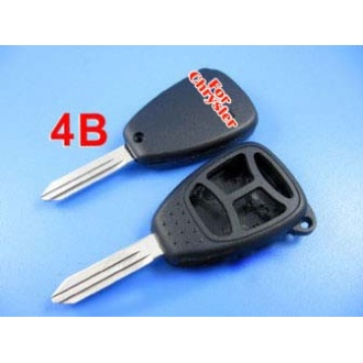 Chrysler remote key shell 4 button