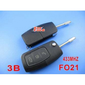 Mondeo remote filp key 3 button 433MHZ