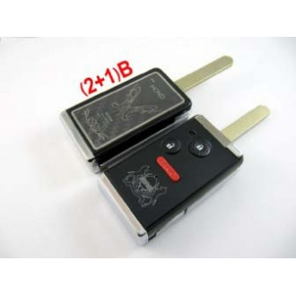 Honda Modified flip remote key shell 2+1 button