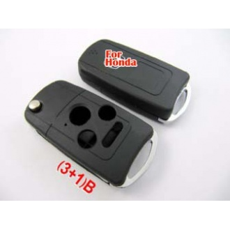 Honda Accord modified remote key shell (3+1) button