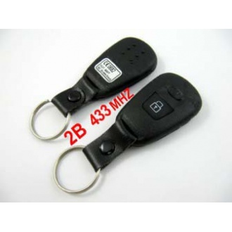 Hyundai remote key 2 button 433MHZ