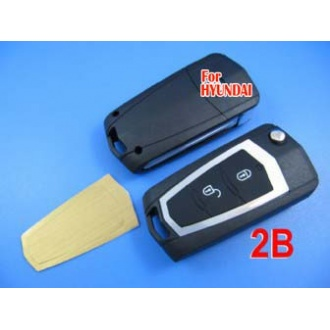 Hyundai Elantra .HDC modified remote flip key shell 2 button