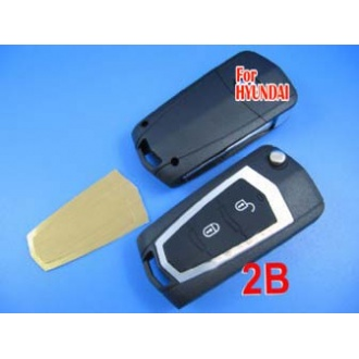 Hyundai Elentra modified flip remote key shell 2 button