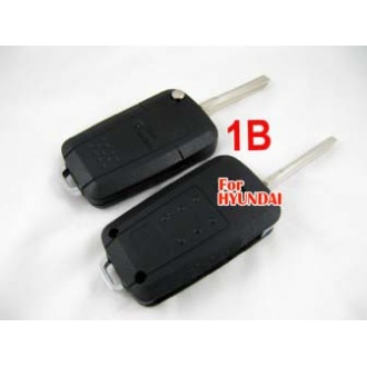 hyundai Accent modified flip remote key shell 1 button