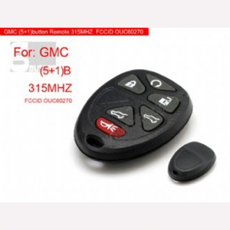 GMC Remote 6 button 315MHZ