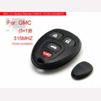 GMC Remote 4 button 315MHZ
