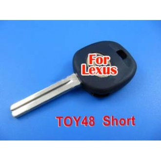 Lexus transponder key 4D60 TOY48 (short)
