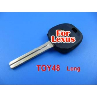 Lexus transponder key 4D60 TOY48 (long)