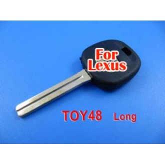 Lexus transponder key ID4D68 TOY48 (long)