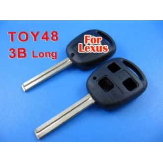 Lexus remote key shell 3 button TOY48 (long)