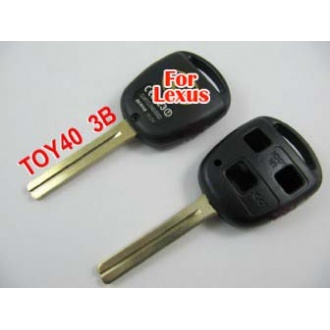 Lexus remote key shell 3 button TOY40(long)