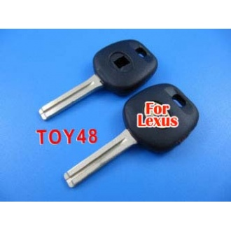 Lexus transponder key shell TOY48 (short)