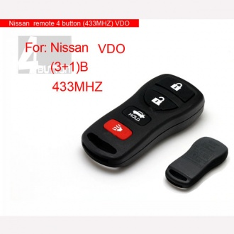Nissan remote 4 button(433MHZ)VDO