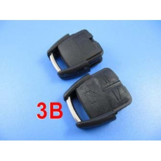 opel remote shell 3 button