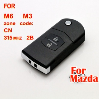 Mazda M6 M3 flip remote key 2 button 315MHZ (with 4D63)