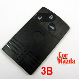 Mazda smart card shell 3 button