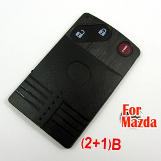 Mazda smart card shell 2+1 button