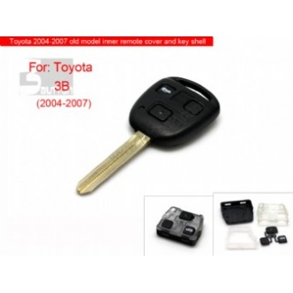 Toyota 2004-2007 old model inner remote key shell