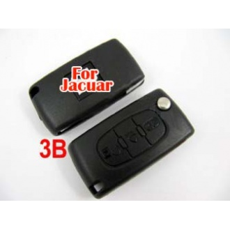 Peugeot flip remote key shell 3 button( light button and without battery location)