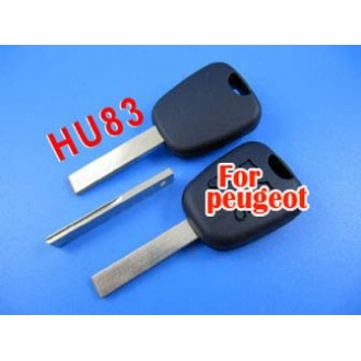 peugeot key shell (307 with groove)