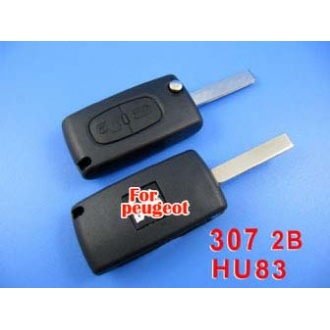 peugeot remote key 2 button mhz 433 (307 with groove)