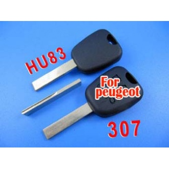 peugeot transponder key ID46 (307 with groove )