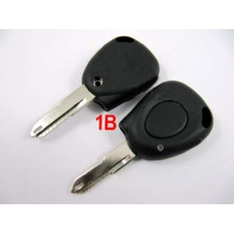Renault remote key shell 1 button-without battery location