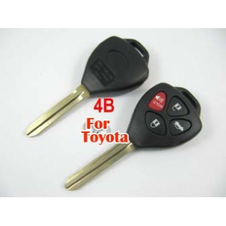 Toyota Camry remote key shell 4 button-the logo separate
