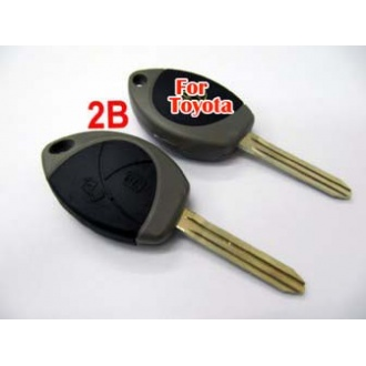 Toyota remote key shell 2 button-for Malaysia