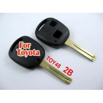 Toyota key shell 2 button toy48-without the words