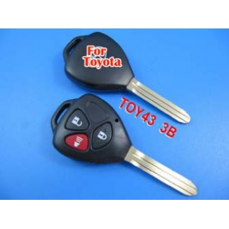 Toyota Camry key shell 3 button-without words