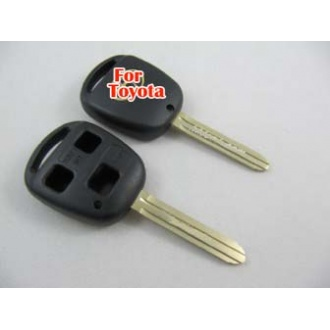 Toyota key shell 3 button toy43-without the words