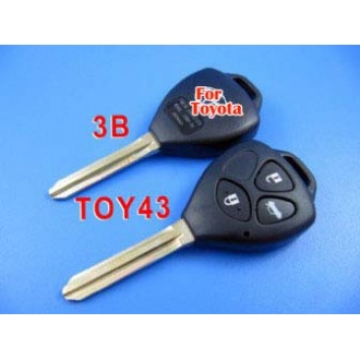 toyota camry remote key shell 3 button