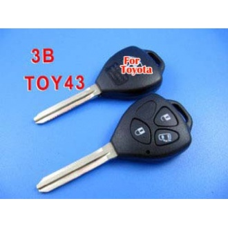 toyota camry remote key shell 3 button-band open a door button