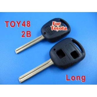 toyota key shell 2button TOY48(long)